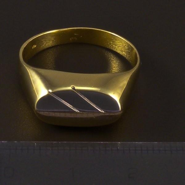 55282f765 Zlatý masivní prsten pánský | goldpoint.cz