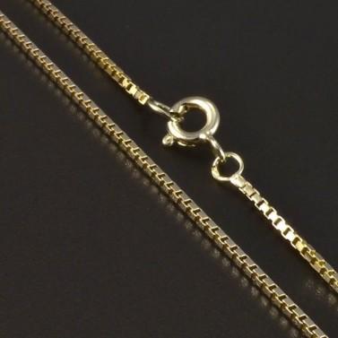 Zlatý hladký řetízek 4980 č.1