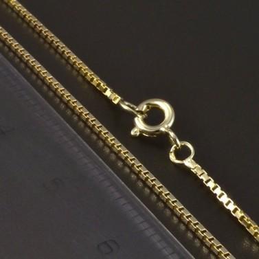 Zlatý hladký řetízek 4980 č.2