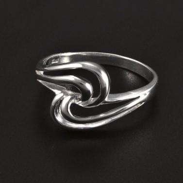 Stříbrný lesklý hladký prsten 5068 č.1
