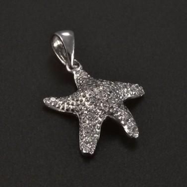 Stříbrný přívěsek hvězdice 5092 č.1