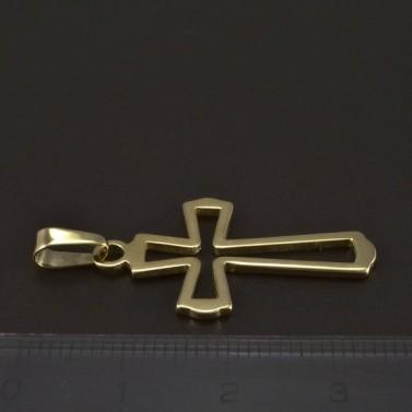 Zlatý prořezávaný křížek 5262 č.2
