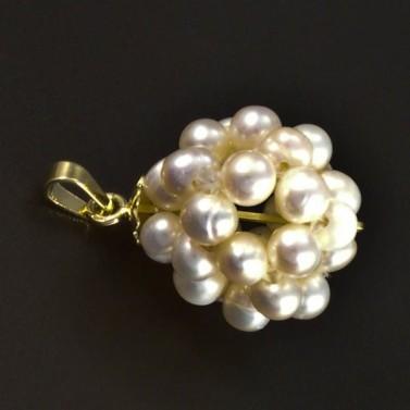 Zlatý přívěsek z perel 5275 č.1