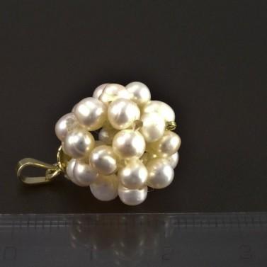 Zlatý přívěsek z perel 5275 č.2