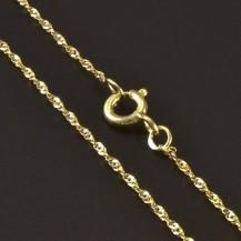 Zlatý jemný řetízek 5510