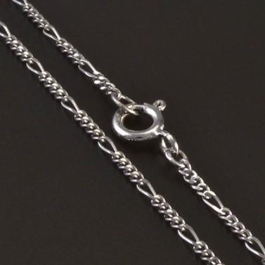 Jemný elegantní řetízek z bílého zlata 5514 č.1
