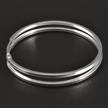 Stříbrné kruhy průměr 5747 č.1