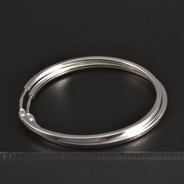 Stříbrné kruhy průměr 5747 č.2