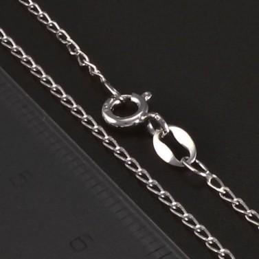 Jednoduchý pevný stříbrný řetízek 5752 č.2