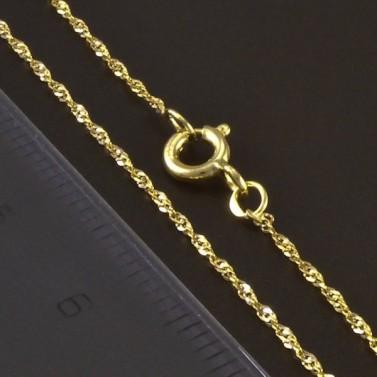 Zlatý jemný náramek 5831 č.3