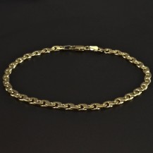 Masivní pevný zlatý náramek 5862