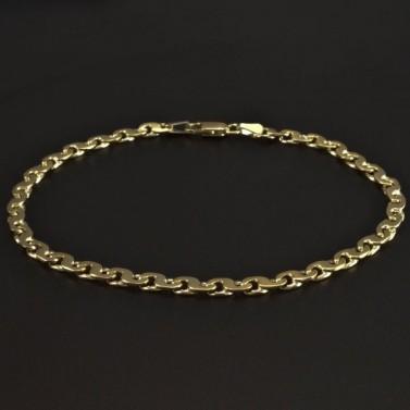 Masivní pevný zlatý náramek 5862 č.1