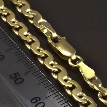 Masivní pevný zlatý náramek 5862 č.3