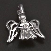 Přívěsek stříbrný tvar anděla 5929