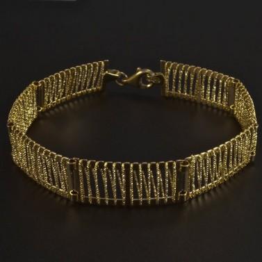 Široký zlatý náramek 5982 č.1