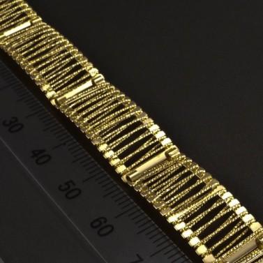 Široký zlatý náramek 5982 č.3