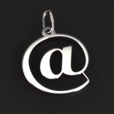 Stříbrný přívěsek tvar zavináč 6163 č.1