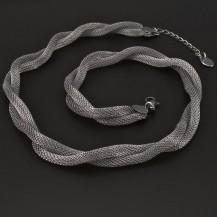 Proplétaný náhrdelník z chirurgické oceli 6182