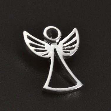 Stříbrný přívěsek hladký lesklý anděl 6204 č.1