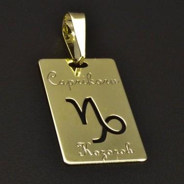 Zlatý přívěsek znamení kozoroh 6216 č.1