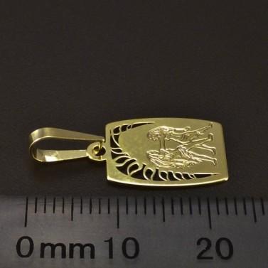 Zlatý přívěsek znamení blíženci 6227 č.2