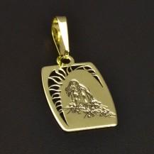 Zlatý přívěsek znamení panna 6232