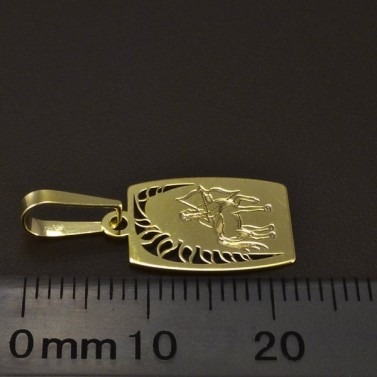 Zlatý přívěsek znamení střelce 6233 č.2