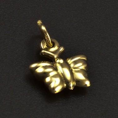 Zlatý přívěs motýlek 6274 č.1
