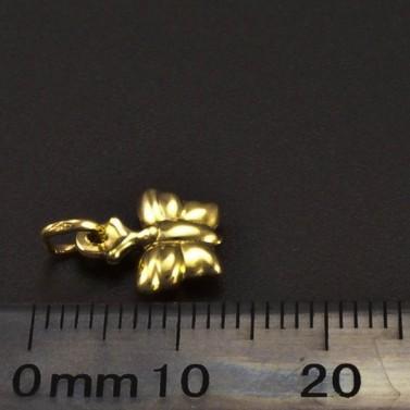 Zlatý přívěs motýlek 6274 č.2