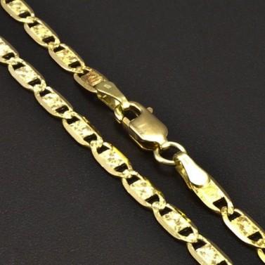 Zlatý elegantní řetízek 6565 č.1