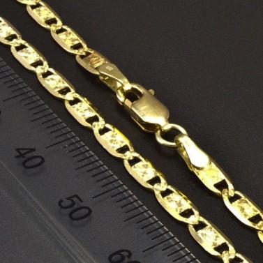 Zlatý elegantní řetízek 6565 č.2