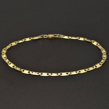 Zlatý náramek šířka 6566 č.1
