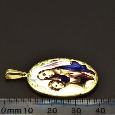 Zlatý přívěsek velká madonka 6582 č.2