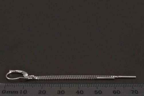 Visací náušnice z bílého zlata 6609 č.2