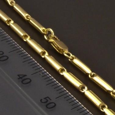 Zlatý článkový náramek 6610 č.3