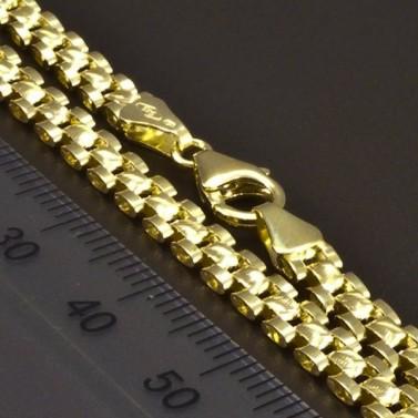 Zlatý náramek šířka 6619 č.3