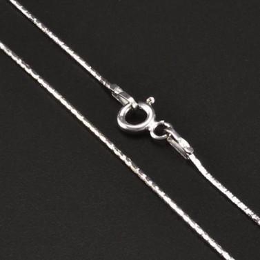 Jemný stříbrný řetízek hádě 6720 č.1