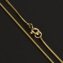 Zlatý slabý řetízek 6902