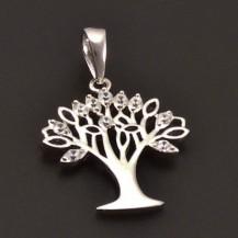 Stříbrný přívěs strom života 7141