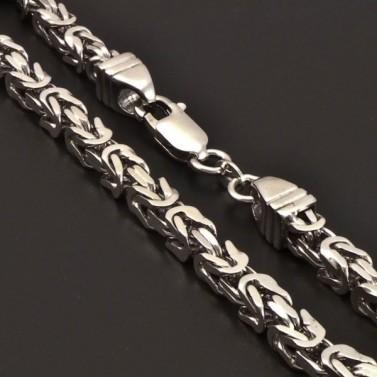 Královský stříbrný řetízek 7170 č.1