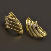 Zlaté náušnice dámské 7272