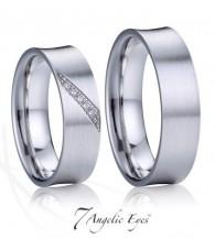 Stříbrné snubní prsteny 032 Frida a Diego