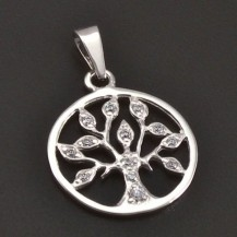 Symbol strom života stříbrný 7797