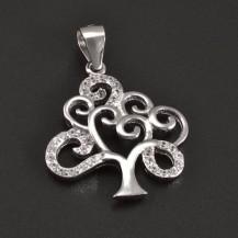 Stříbrný přívěšek strom 7942