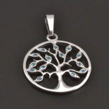 Strom života z bílého zlata 7947