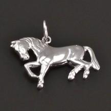 Stříbrný přívěs kůň 7993