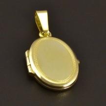Otevírací zlatý medailon 8006