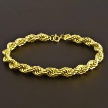 Zlatý náramek wallis 8014