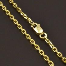 Pevný zlatý řetízek 8058