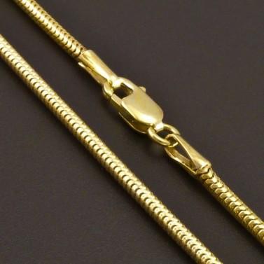 Zlatý řetízek had 8078 č.1